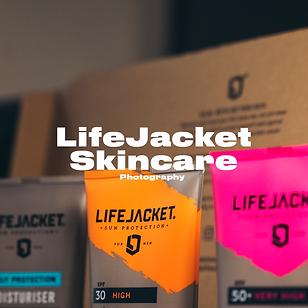 LifeJacket Skincare Photography | Resonant Visuals