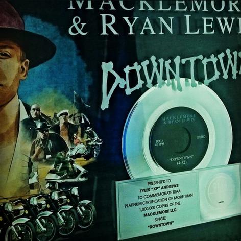 Celebrating iLA's XP / Macklemore & Ryan Lewis Platinum Certification / Over 1 Million Sold
