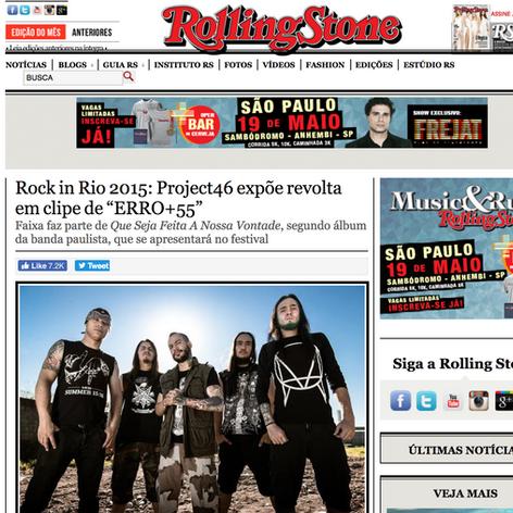 iLA's Project46 // Rolling Stone // Rock In Rio Brazil
