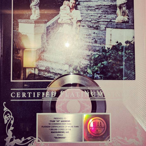 Another Platinum Certification. Over 1 Million units moved