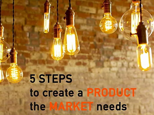 5 Steps to Create a Product the Market Needs