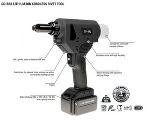 18v Cordless Rivet Guns for the Professional