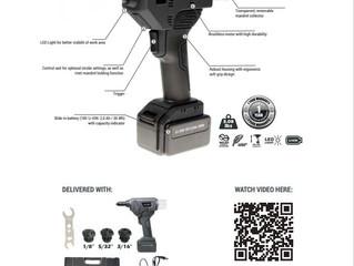 New 18V Cordless tools