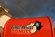 Little Devil Donuts graphics