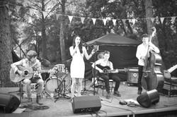 Marie Jeanne Swing quartet Aumelas