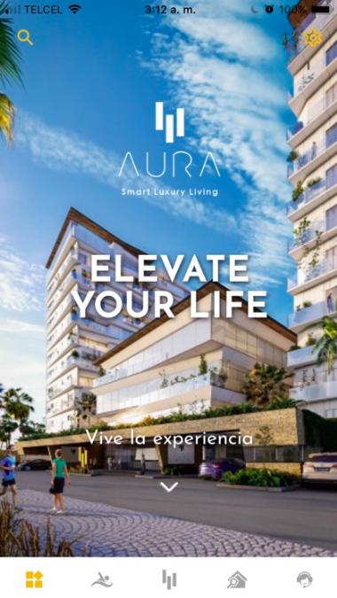 Aplicación Aura Life