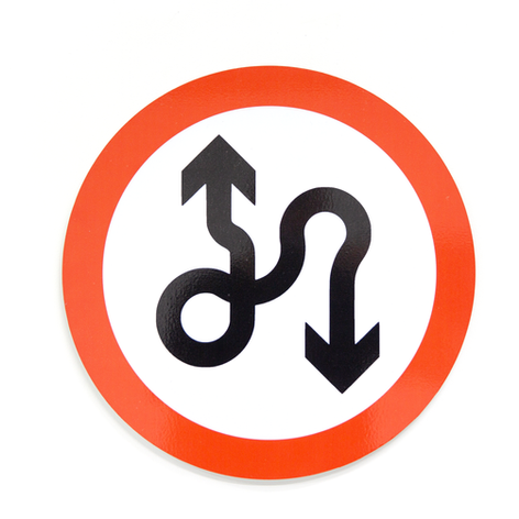No Lane Policy (Two-way Traffic)
