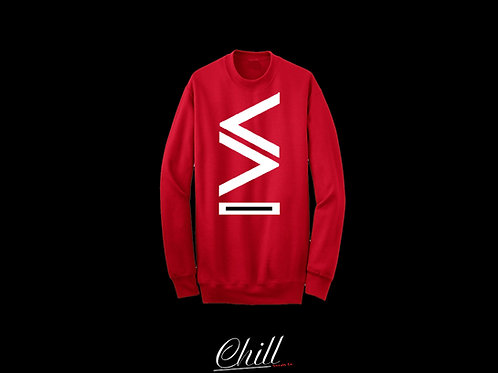 "New Era Crewneck ""RED"""