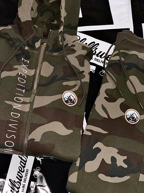 Survival Camo Tech (zip up)