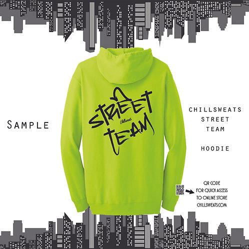"""Street Team """"sample"""" Hoodie"""