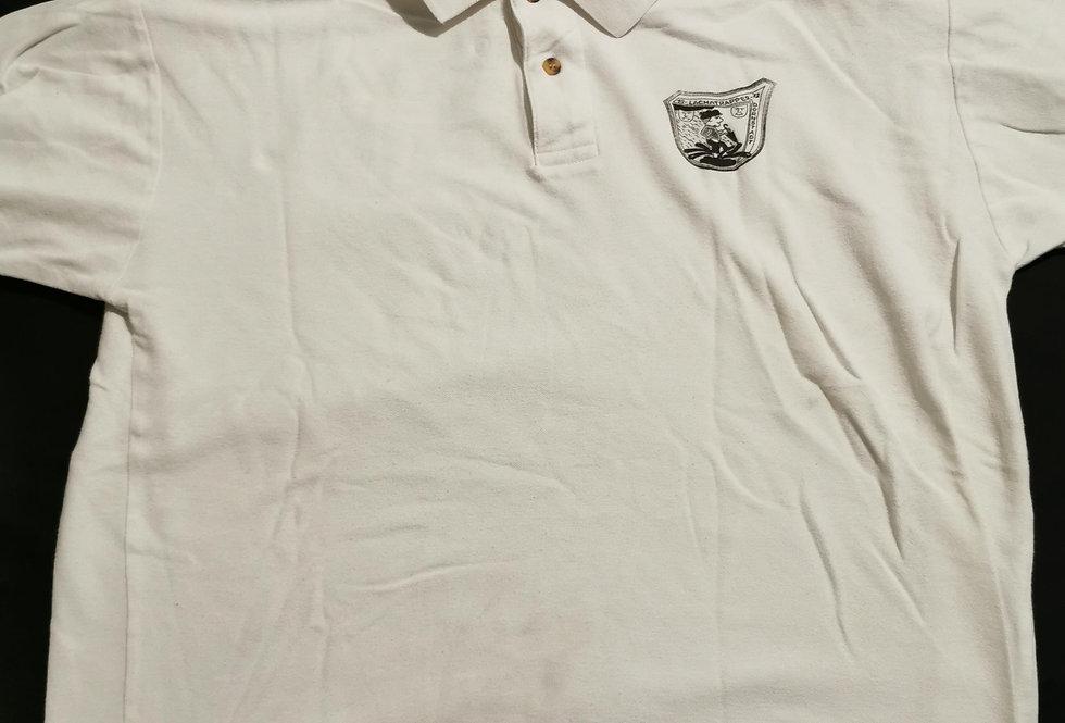Polo Shirt weiß mit Logo