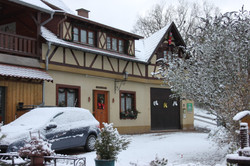 The gite in the snow