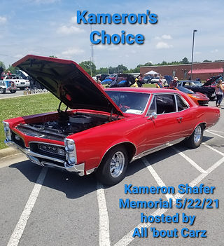 5-22-2021 All 'bout Carz hosted Kameron