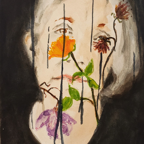 Women with Plants 3