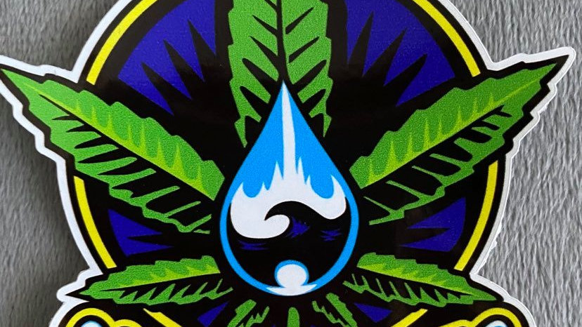 Clearwater Jimbo Phillips Sticker