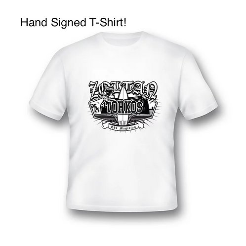 HAND SIGNED Zoltan Torkos Graphic T-Shirt