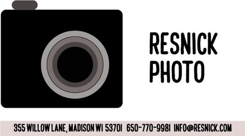 Contact card and logo design