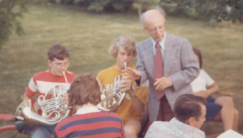 Mr. D! First Horn Teacher