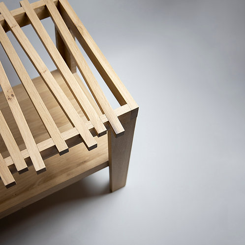 'Stacks' Bathroom Stool