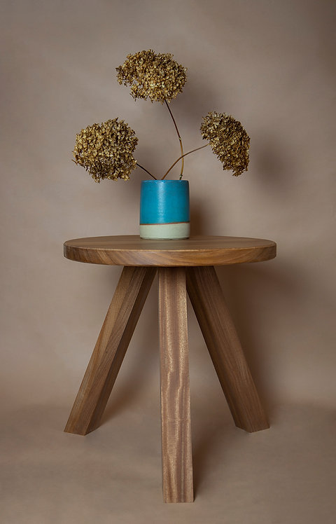 500 Circular Coffee Table - Sapele