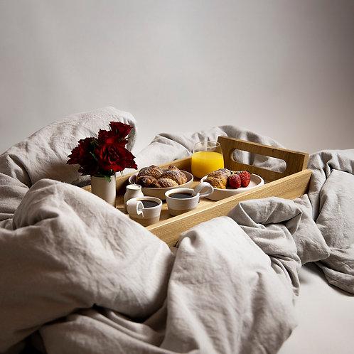 Oak Breakfast Tray