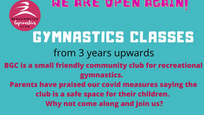 We are open! Spaces available!