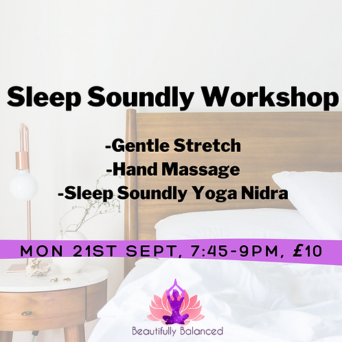 Sleep Soundly Workshop