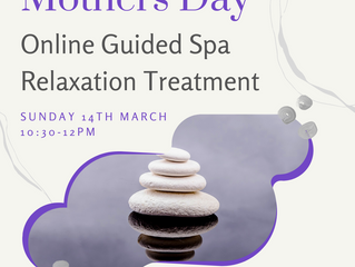 Mothers Day: Guided Spa Relaxation Treatment