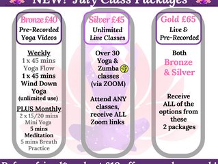July Class News!