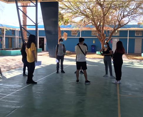 Construyendo un Liceo que Deja Huellas en el Desierto