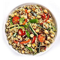 Mediterranean Quinoa Blend with Chick Peas