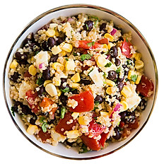 Bean Mix with Zesty Quinoa