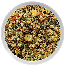 Pearl Couscous with Diced Veggies & Moroccan Spice