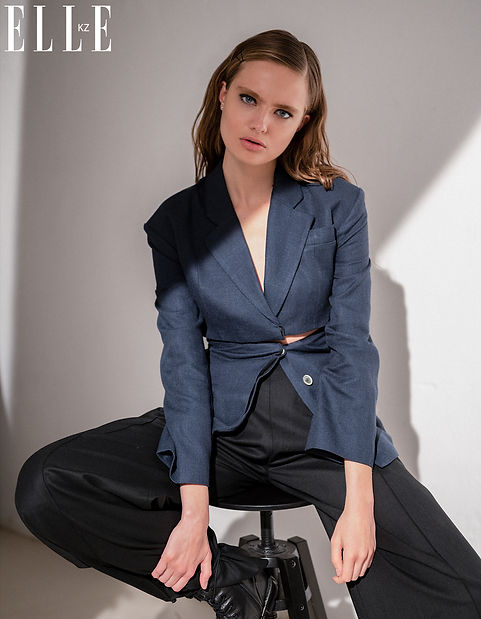 Elle Kazakhstan Fashion Editorial
