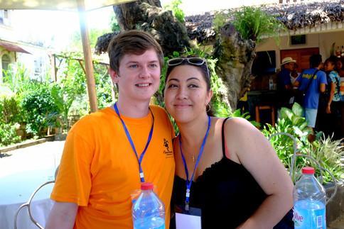 Kyle Allen & Aina Cook