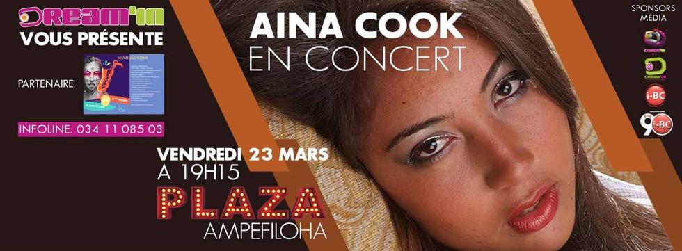 Aina Cook en Concert