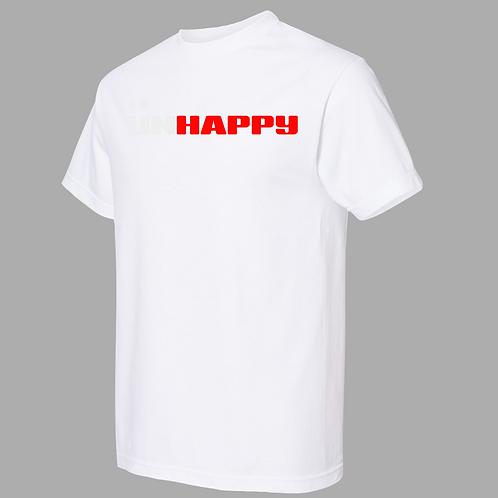 UNHAPPY White Premium Shirt