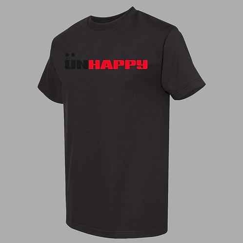 UNHAPPY Black Premium Shirt