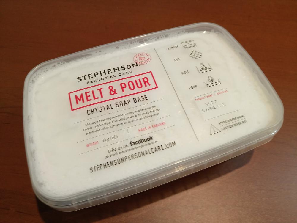 Jabón base glicerina blanca