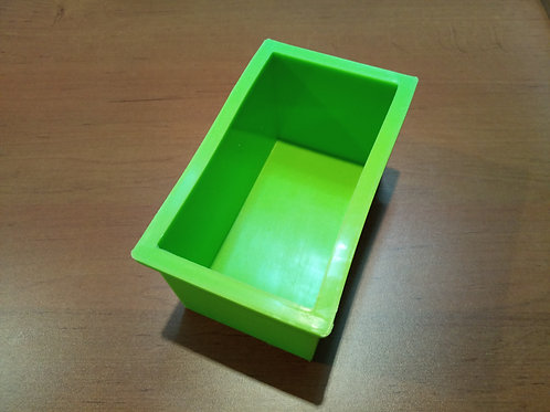 Molde de silicona jabón barra