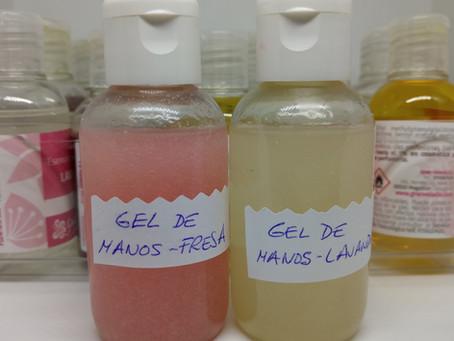Cómo hacer gel antiséptico para manos casero