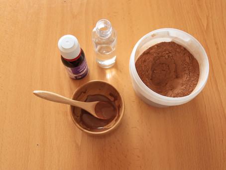Mascarilla de arcilla roja para pieles grasas y pieles con acné