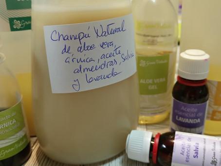Cómo hacer champú natural líquido básico