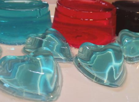 Jabón gelatina, divertido para hacer con niños