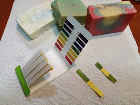 Medir el ph de un jabón casero de aceite