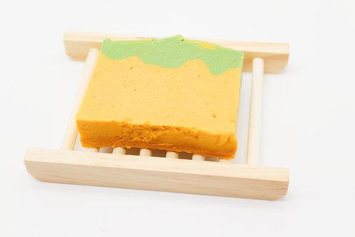 Ekocaja regalo con jabonera de madera y jabón a elegir