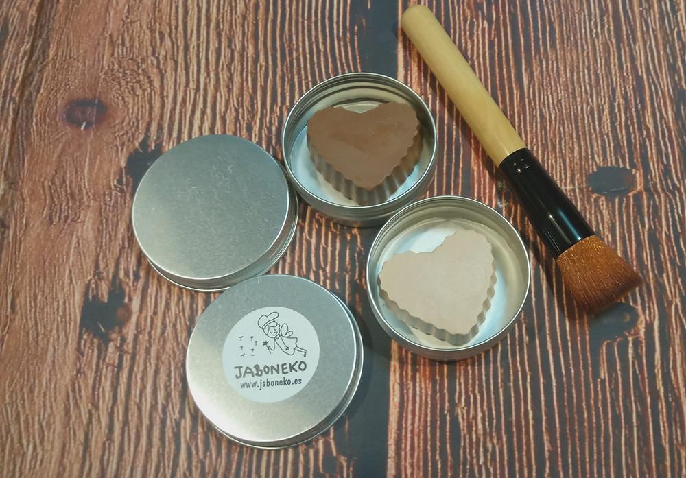 Bases de maquillaje sólidas