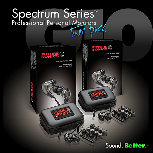 Spectrum Series™ G10 Twin Pack (2 sets)