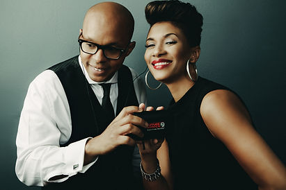Marcus Baylor and Jean Baylor of The Baylor Project use Future Sonics Spectrum Series