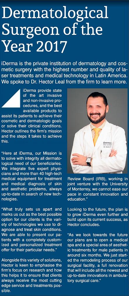 Dr. Héctor Leal Silva